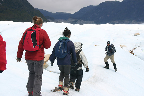 Loop over de Exploradores Gletsjer