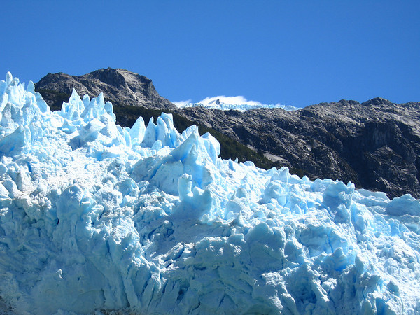 Boottocht naar de Leones Gletsjer
