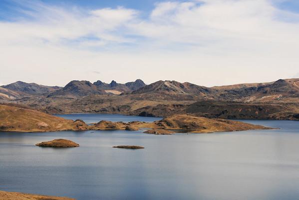 Cajas national park Impressie