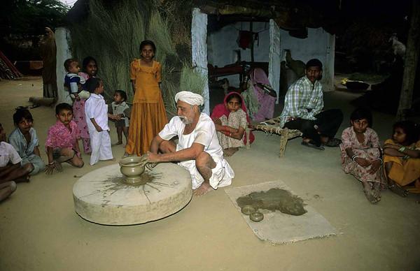 Daspan Ribari Bhil dorp excursie