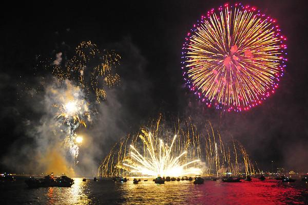 Miyajima vuurwerkfestival