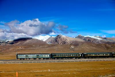 Trein naar Lhasa