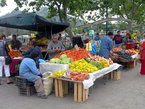 Santiago de Chile Markten