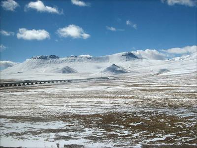 Trein naar Lhasa impressie