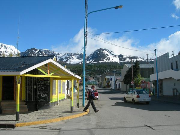 Wandeling door Ushuaia